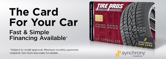Financing Available at C Bar R Tire Pros in Fallon, NV 89406
