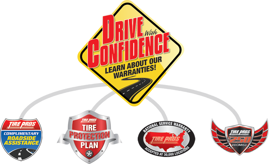 Tire Pros Drive With Confidence Guarantee at C Bar R Tire Pros in Fallon, NV